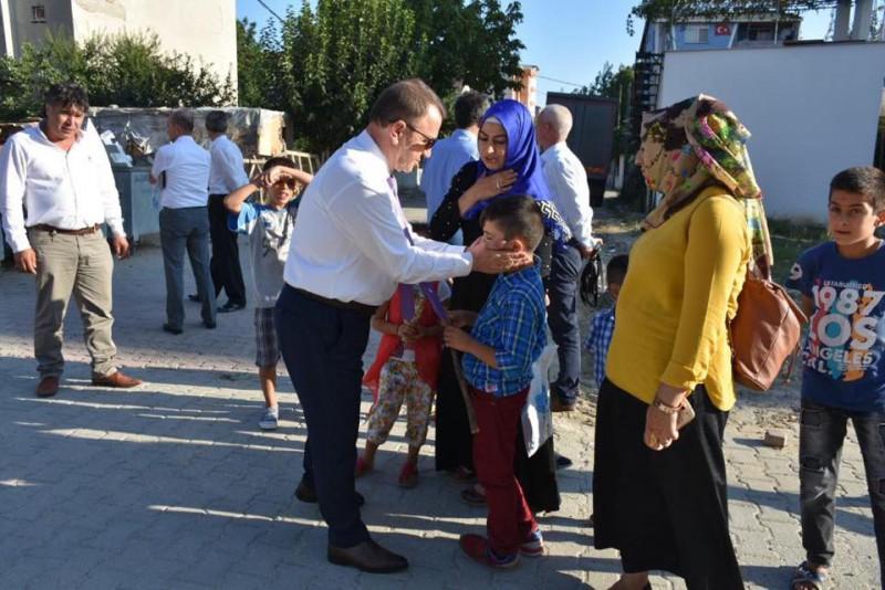 MİMARSİNAN MAHALLESİ'NDE IŞIKLAR DENETİMİ