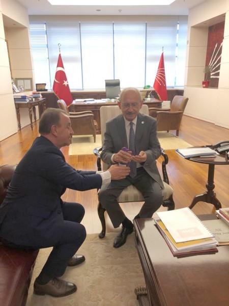 IŞIKLAR SODEM TOPLANTISI İÇİN ANKARA'DAYDI
