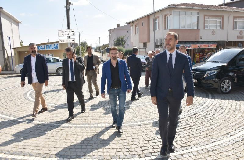 GAZİTEPE'YE HİZMET ATILIMI