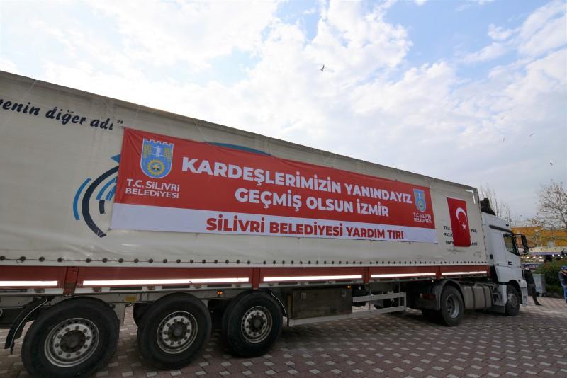"""SİLİVRİ'DEN İZMİR'E: """"KARDEŞLERİMİZİN YANINDAYIZ"""""""