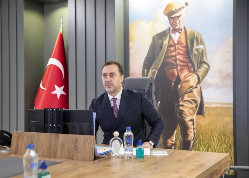 BAŞKAN YILMAZ AZERBAYCAN ARB 24 KANALINA KONUK OLDU